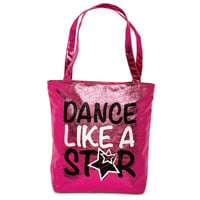 "Metallic ""Dance Like a Star"" Tote Bag - Balera"