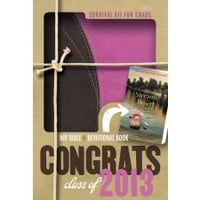 2013 NIV Survival Kit for Grads - Girl - New International - Bibles