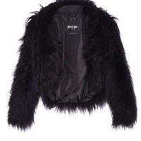 Nasty Gal Always Ready Faux Fur Jacket