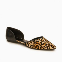 BROOKINS FLATS IN LEOPARD