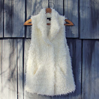 Polar Bear Cozy Vest