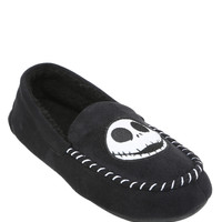 The Nightmare Before Christmas Jack Mens Moccasin Slippers