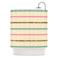"Kess Inhouse Skye Zambrana ""Diamonds"" Shower Curtain 
