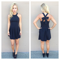 Black Bow Cross Dress