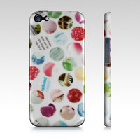 Collage Dots iPhone 5 Case by JUSTART (iPhone 5 / 5S)