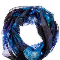 The Ground Control Scarf in Blue