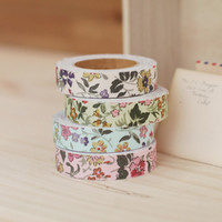 Wildflower Washi Tape