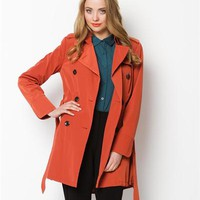 Vince Camuto Double-Breasted Trench Coat - Winter Outerwear  Shop - Modnique.com