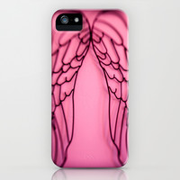 Angel Fire iPhone & iPod Case by Ann B.