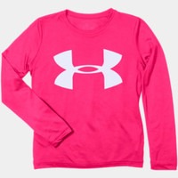 Girls' UA Tech™ Big Logo Long Sleeve