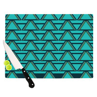 "Nina May ""Deco Angles"" Cutting Board 