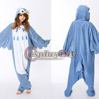 Source 2013 Japan hot sale Owl Kigurumi pajamas costumes Onesuit cosplay costume on m.alibaba.com