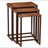 Granger Reclaimed Wood Nesting Tables