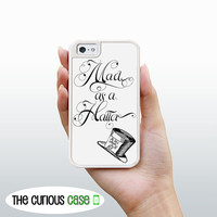 iPhone 4 4S Mighty Case - 2 Part Protective iPhone 4 Case iPhone 4S Case - Alice In Wonderland Mad Hatter