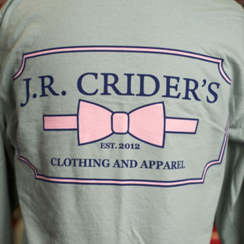 J.R. Crider's Clothing & Apparel — The Long Sleeve Women's Logo Tee