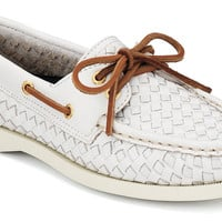 Women's Cloud Logo Authentic Original 2-Eye Woven Boat Shoe