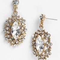 Nina 'Celia' Marquise Drop Earrings | Nordstrom