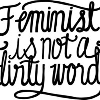 Feminist Is Not a Dirty Word Art Print by Zara Yow