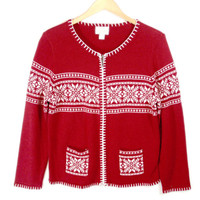 Soft Cozy Traditional Nordic Ugly Ski Sweater