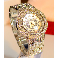 Full Rhinestone Pave Luxury Watch(1020D)