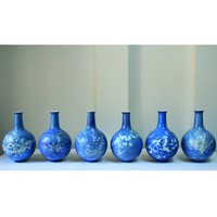 The Future Perfect - Blueware Vase Collection - Objects