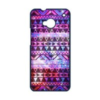 First Design Custom Unique Floral Tribal Andes Aztec Printed Best Durable HARD PLASTIC HTC One M7 Case