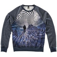 Imaginary Foundation Attractor Raglan Crew Sweatshirt - Men's at CCS