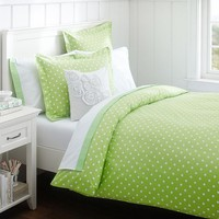 Dottie Duvet Cover + Sham, Mint