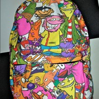 SWEET LORD O'MIGHTY! 90'z Cartoon Backpack
