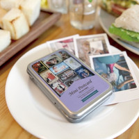 Paris Instax Mini Photo Box & Postcard Set