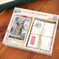 New York Mini Postcard & Envelope Set