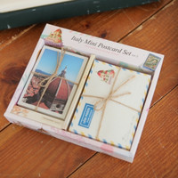 Italy Mini Postcard & Envelope Set