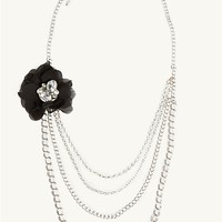 Flower Cascading Chain Necklace | Necklaces | rue21