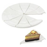 The Green Head - Triangolo Dessert Plates