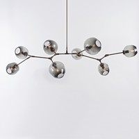 The Future Perfect - Branching Series, 8-Bubble Chandelier - Lighting