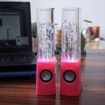 Heartybay Music Fountain Mini Amplifier Dancing Water Speakers I-station7 Apple Speakers