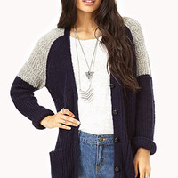 Menswear-Inspired Cardigan