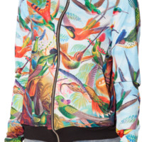 Birds In Paradise GF Bomber (CAPPED PRE SALE) | Black Milk Clothing