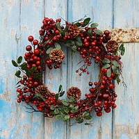 Christmas wreaths | notonthehighstreet.com