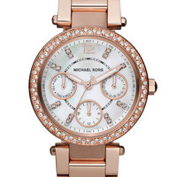 Michael Kors 'Parker - Mini' Multifunction Watch, 33mm