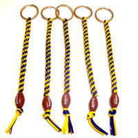 Set of Five Minnesota Vikings Inspired Keychains