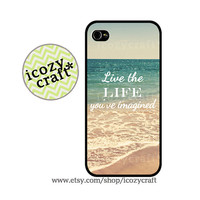 retro quote iphone 5 case, iphone 4 case, beach iphone 4s case, galaxy s3 case , gift idea-129