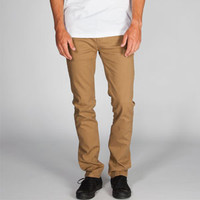 RSQ London Mens Skinny Slub Twill Pants
