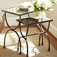 WILLOW NESTING TABLES, SET OF 2