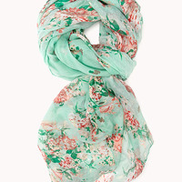 Floral Fantasy Woven Scarf