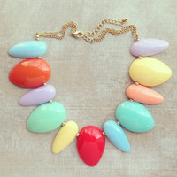 PASTEL SHERBET NECKLACE