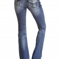 SASHA BOOT SEQUIN SCROLL PREMIUM JEANS