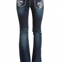 GRACE IN LA FLARE PAILLETTE JEANS