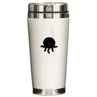 Octopus Ceph Ceramic Travel Mug - CafePress Australia