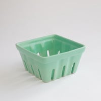 Ceramic berry basket